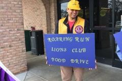 Lions Food Drive